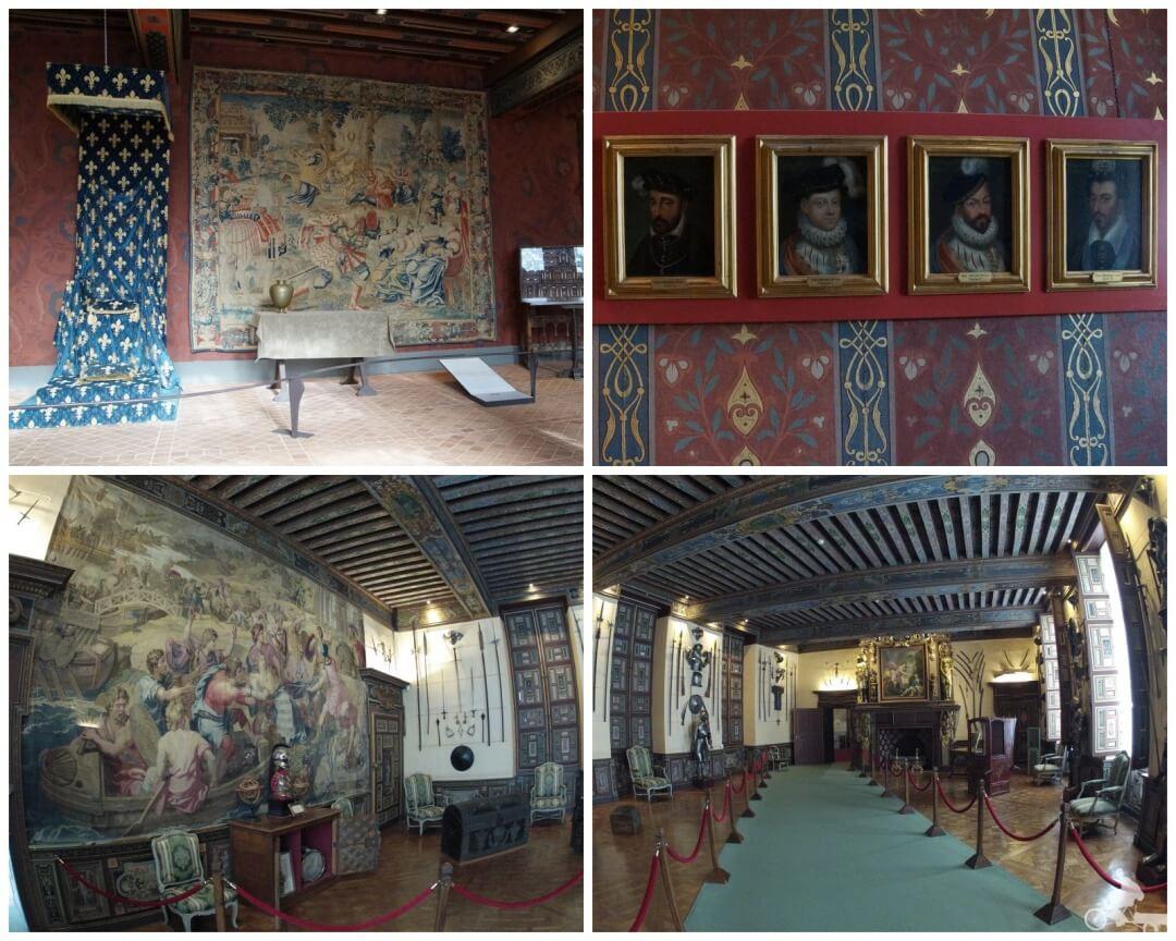 interior castillo de blois