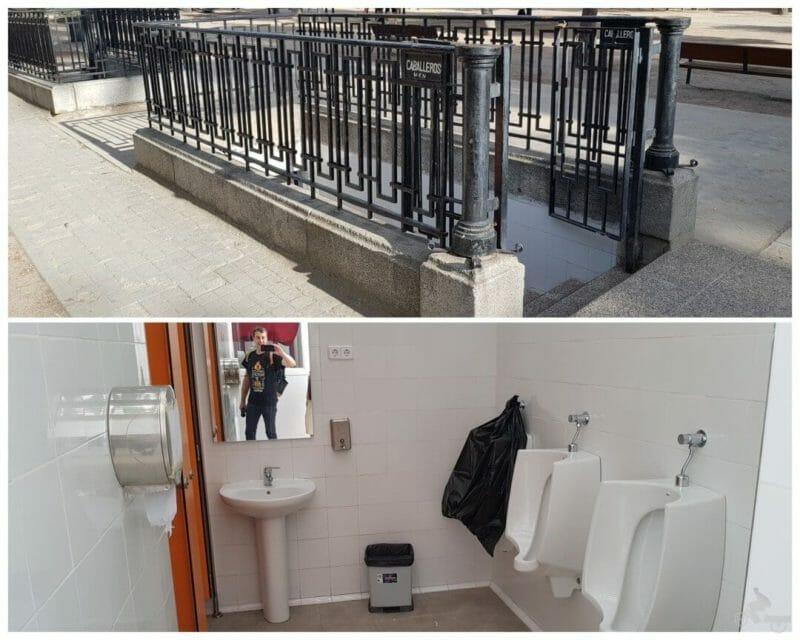 lavabos del retiro