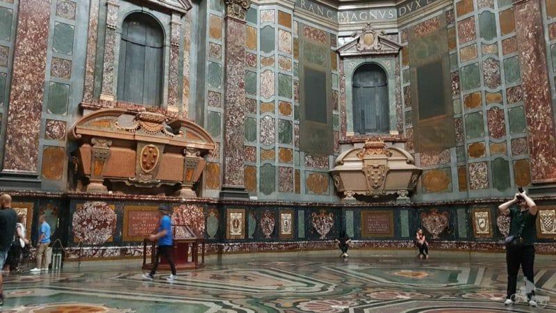 sala octogonal capilla de los medici