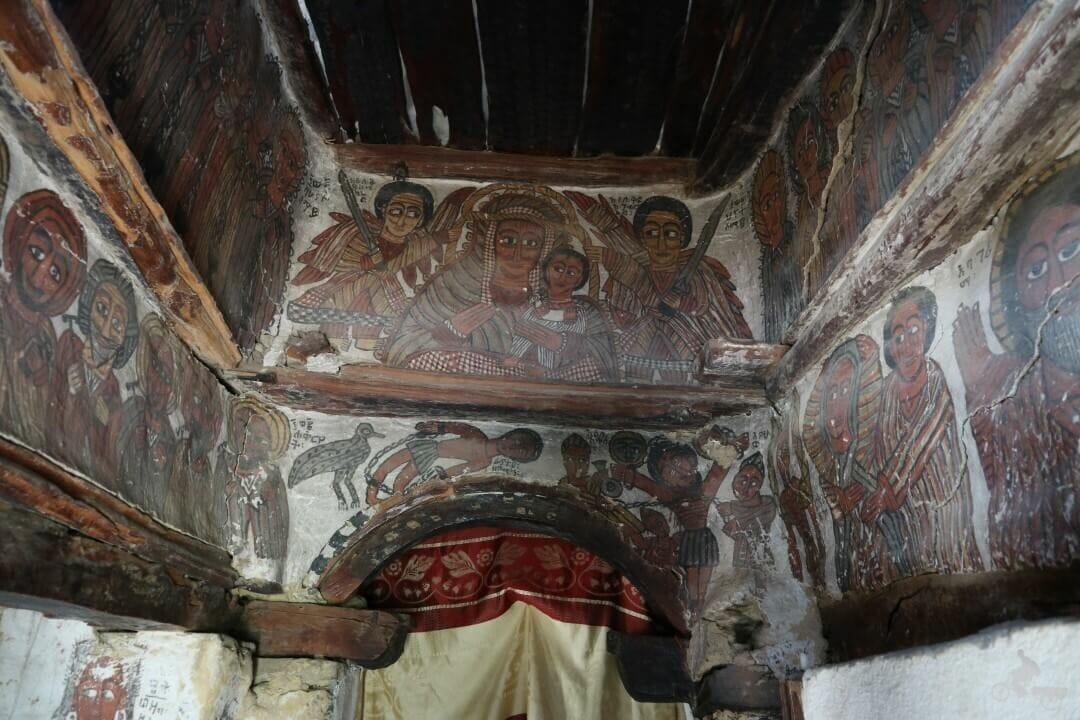 pinturas iglesia petros we paulos