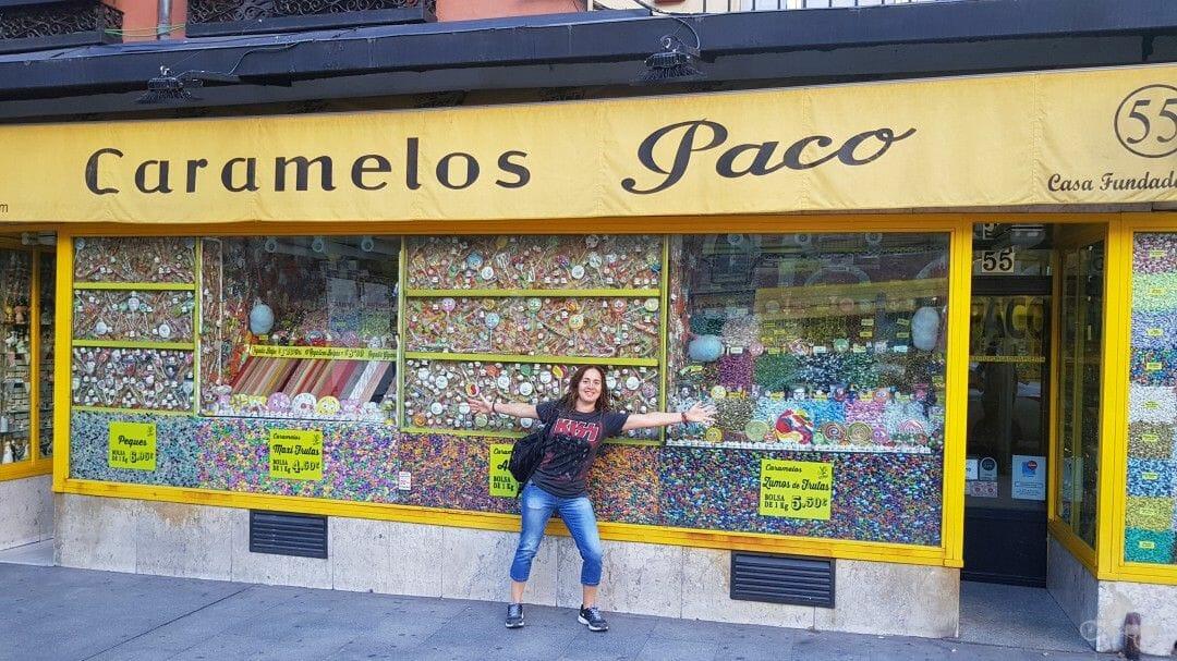 caramelos paco - mejores free tours en Madrid