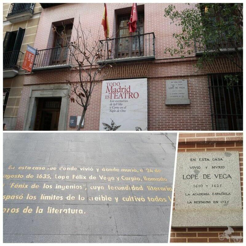 casa lope de vega barrio de las letras madrid