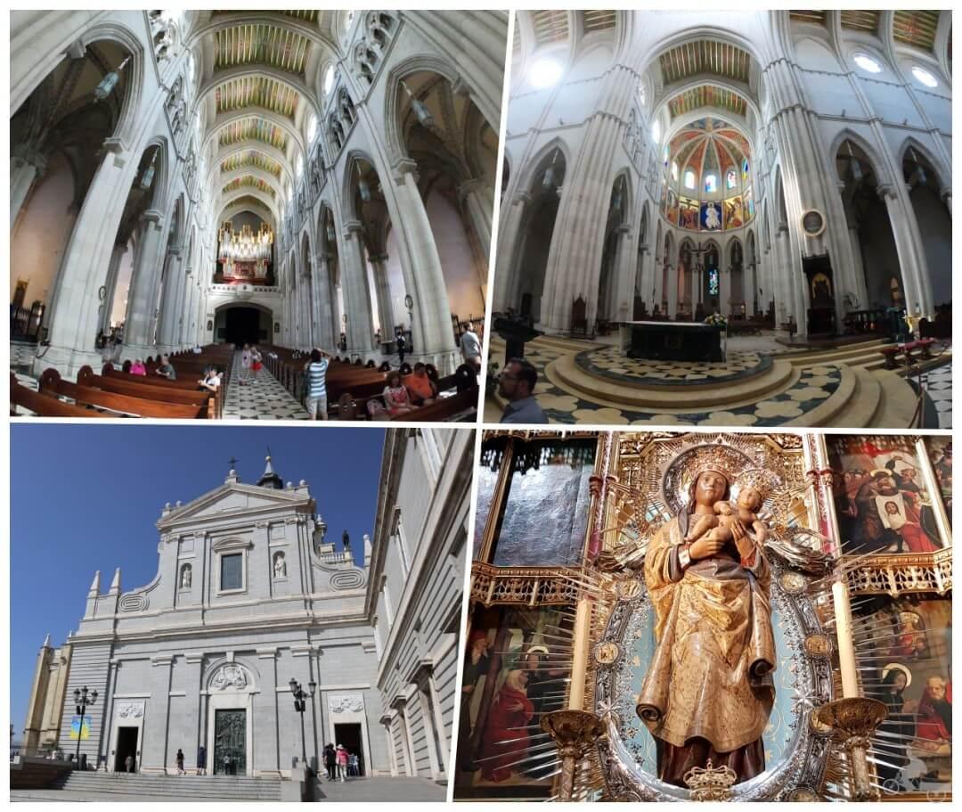 interior catedral almudena madrid