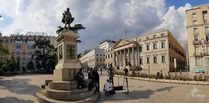 cervantes congreso diputados que ver en madrid en 3 días