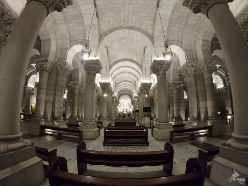 cripta catedral almudena