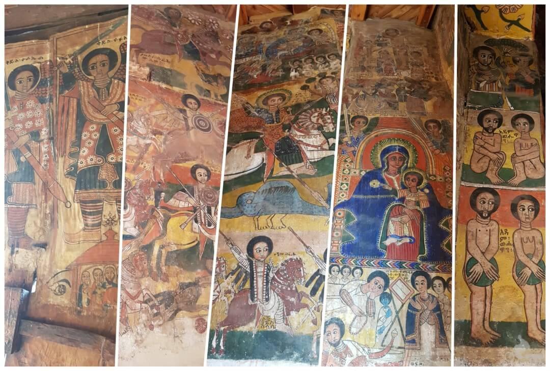 frescos iglesia abraha we atsbeha