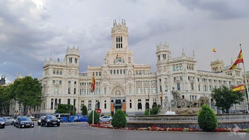 Cibeles qué ver en Madrid en 3 días