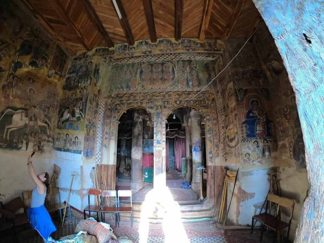 frescos murales iglesias gheralta