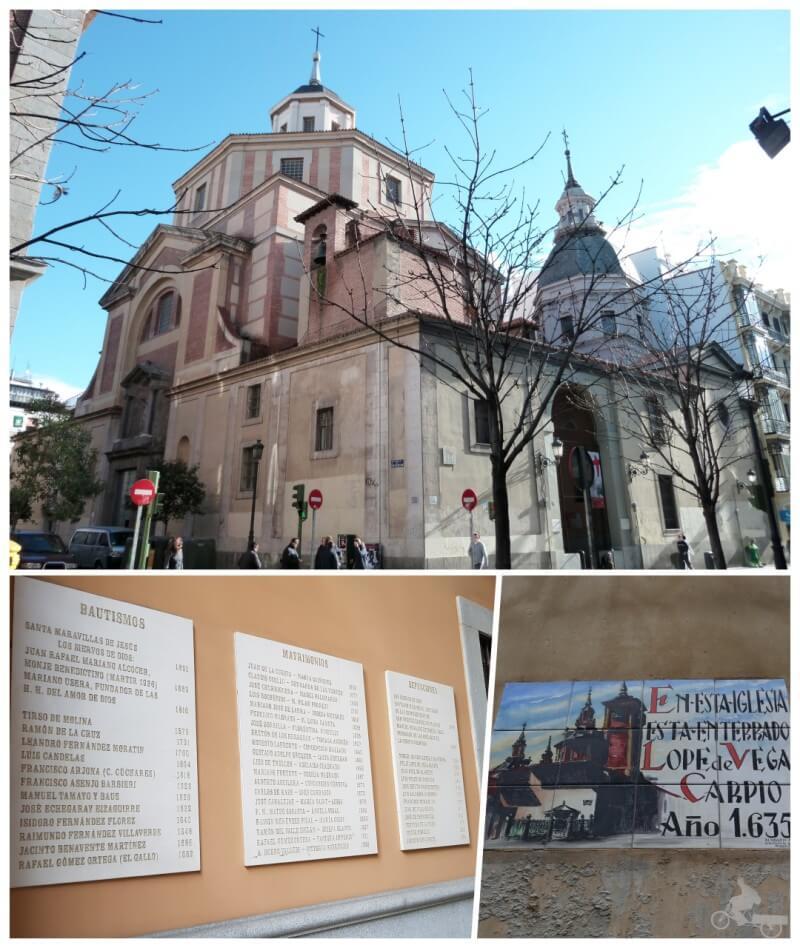 iglesia parroquia san sebastian madrid barrio letras
