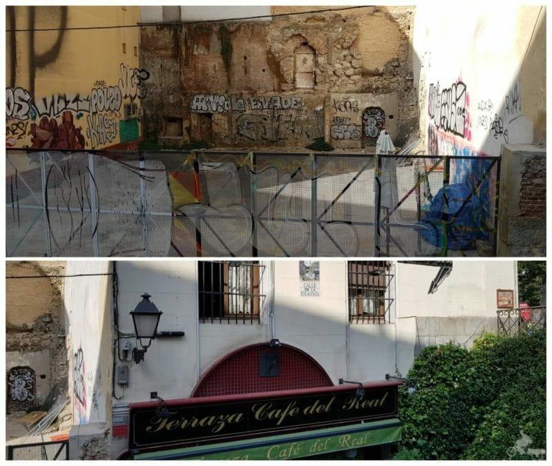 muralla medieval cristiana Madrid
