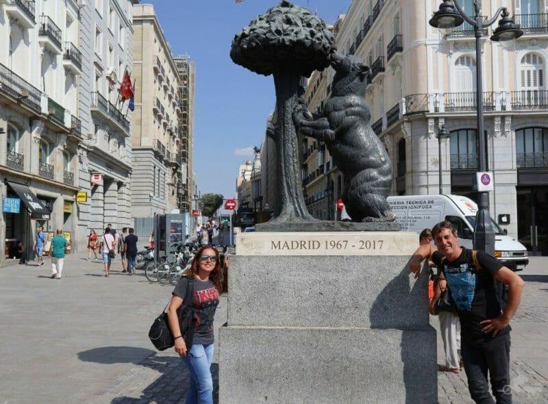 oso madrono plaza sol madrid