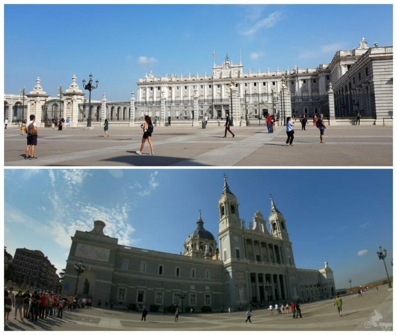 palacio real madrid catedral almudena