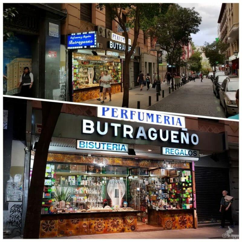 perfumeria butragueño madrid