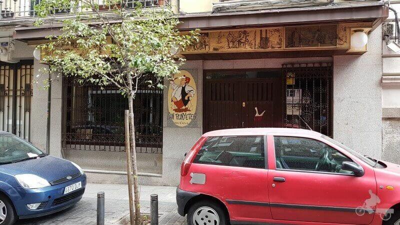 restaurante can punyetes madrid barrio de las letras
