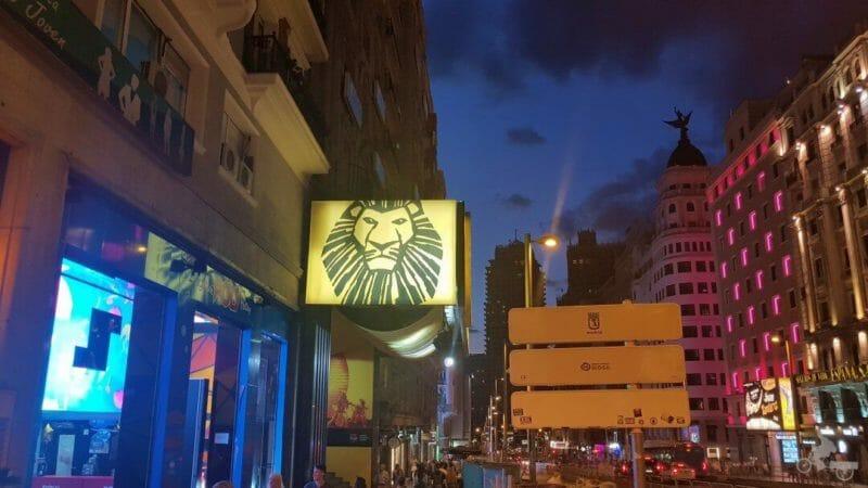 teatro rey leon madrid