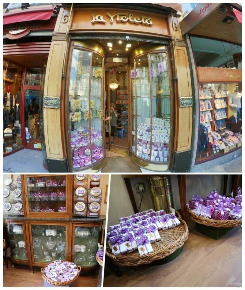 tienda caramelos la violeta de madrid