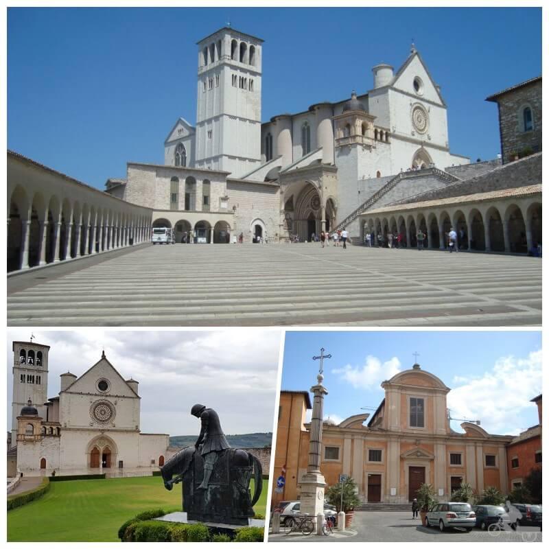 Piazza di San Francesco D'Assisiin trastevere
