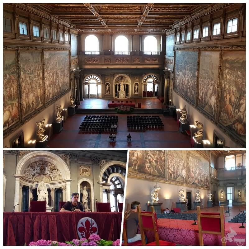 Sala Cinquecento del palazzo vecchio