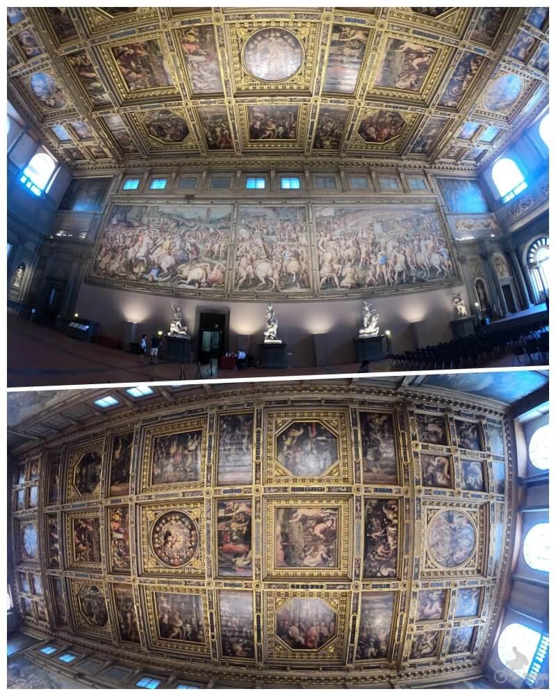 Sala del Cinquecento del palazzo vecchio
