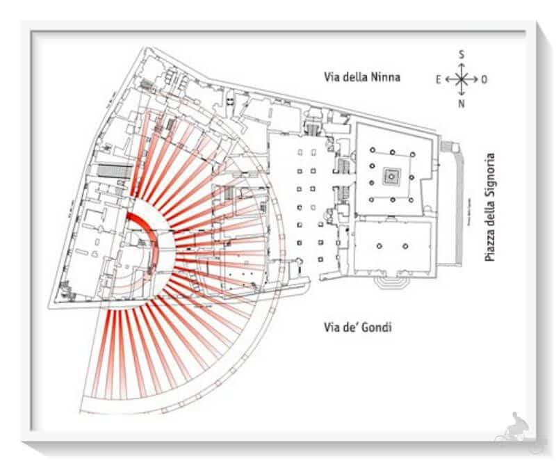excavaciones del teatro romano de Florencia