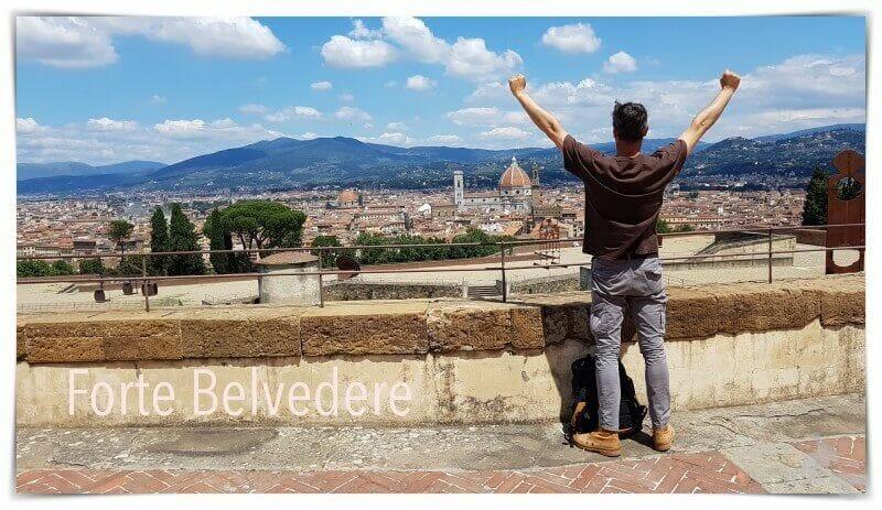 Forte de Belvedere  - visitar Florencia en dos días