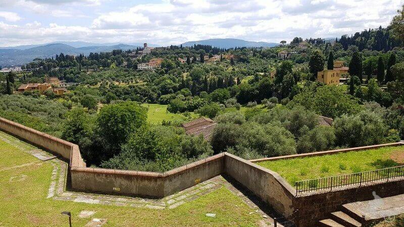 vistas desde el forte belvedere