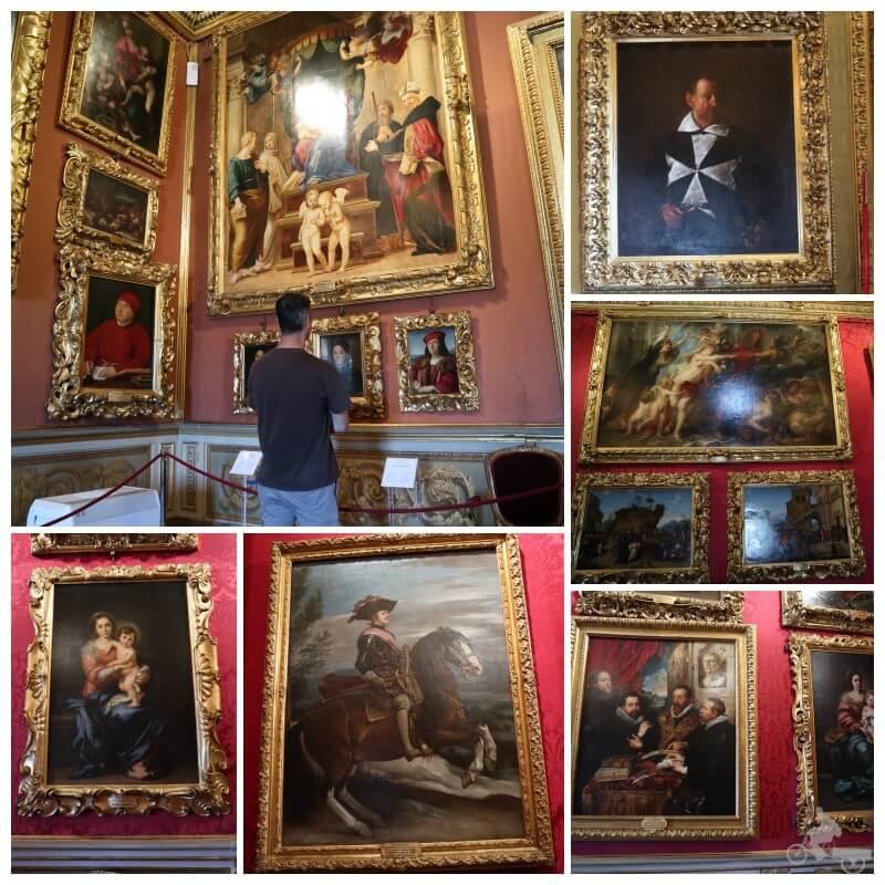 galeria palatina palacio pitti
