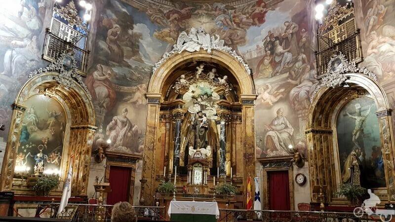 frescos iglesia de san antonio de los alemanes madrid
