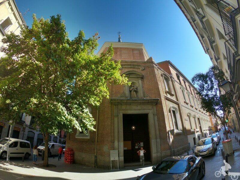 iglesia de san antonio de los alemanes madrid fachada exterior