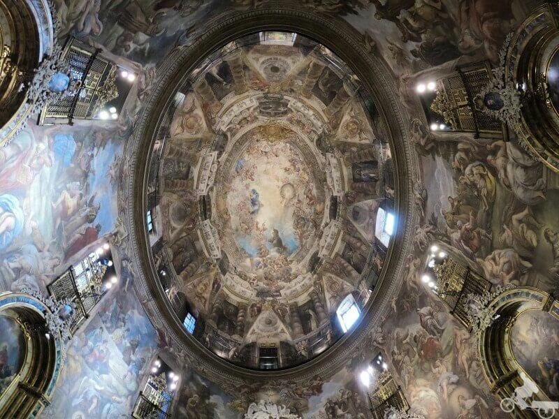 iglesia de san antonio de los alemanes madrid cupula
