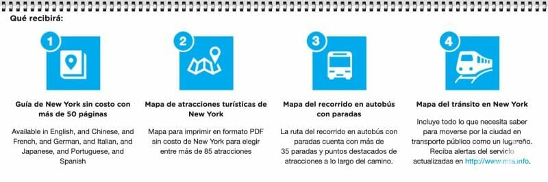 guia pdf new york explorer pass