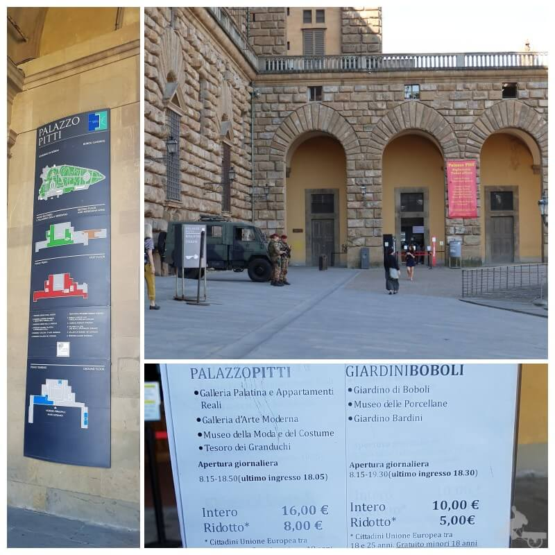 palacio pitti tickets