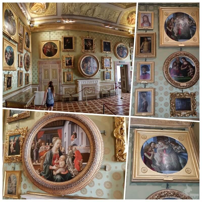 pinturas palacio pitti