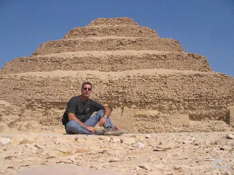 piramide sakkara - qué visitar en Egipto