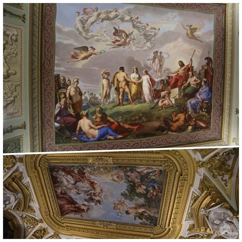 techos palacio pitti