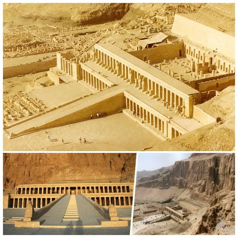 templo hatshepsut - qué visitar en Egipto