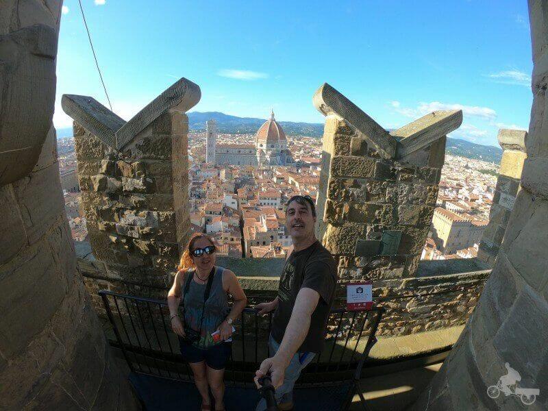vistas del duomo desde Palazzo Vecchio