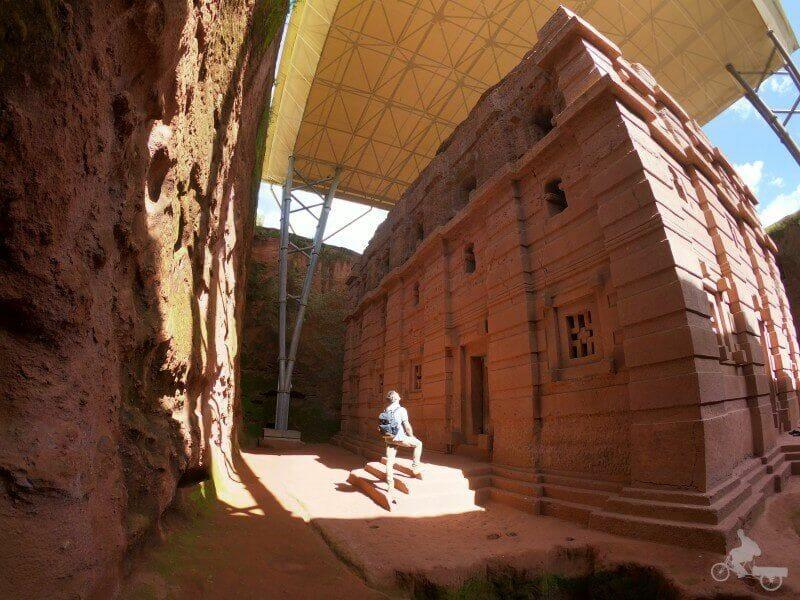 Bet Amanuel Iglesia excavada roca lalibela
