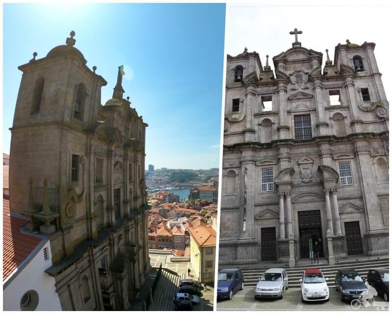 fachada-iglesia-san lorenzo dos grilos oporto