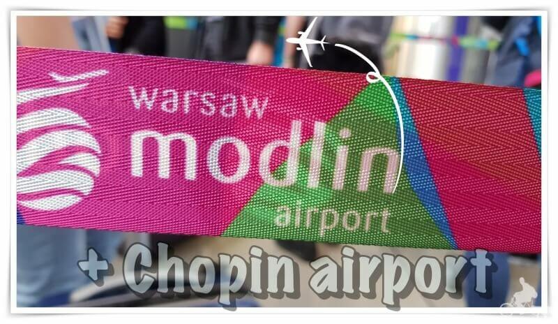 aeropuerto varsovia modlin chopin como llegar