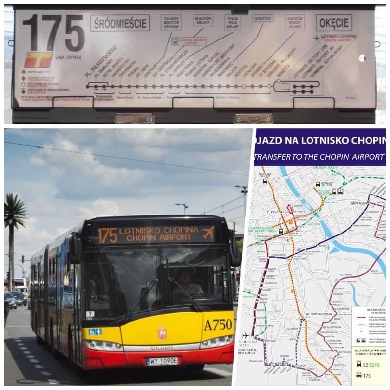 autobus aeropuerto chopin varsovia