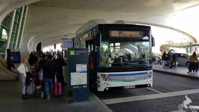 bus aeropuerto de oporto