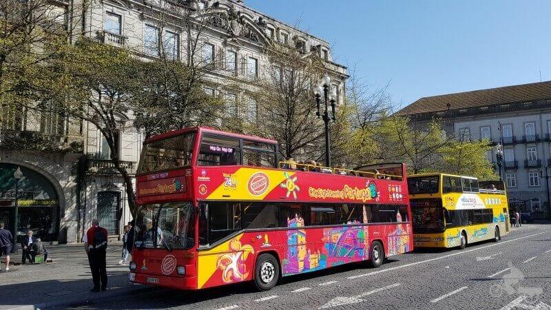 bus turístico de Oporto autobús