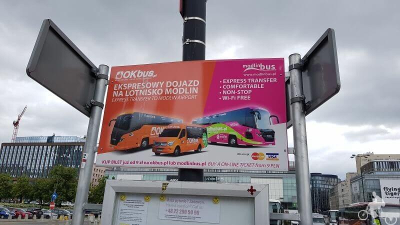 buses aeropuerto modlin varsovia modlin