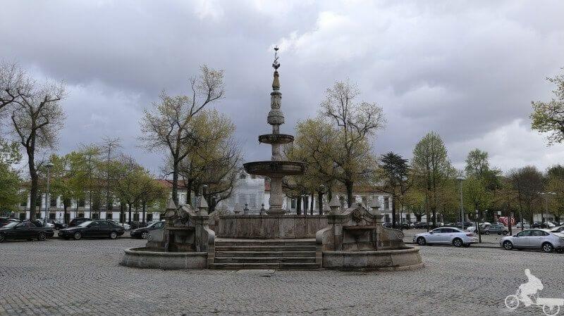 plaza de la Feria de Barcelos