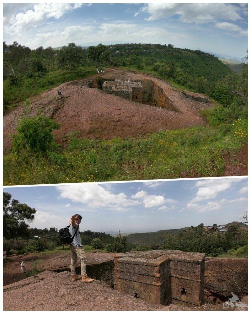 iglesia de san jorge lalibela etiopia