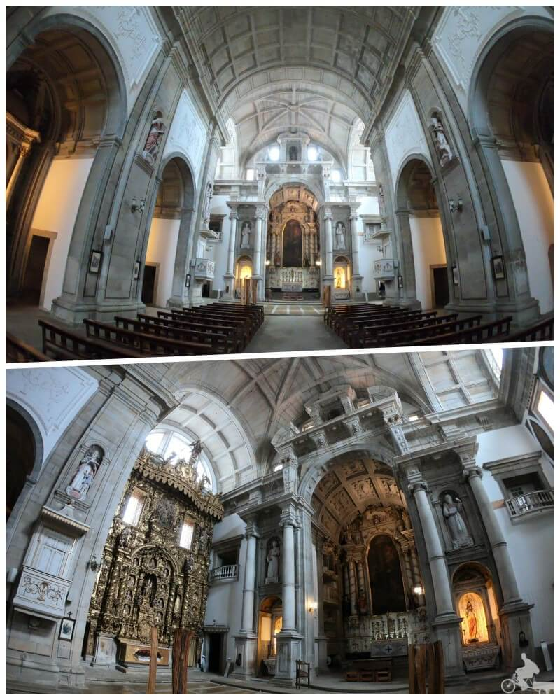 interior iglesia san lorenzo dos grilos oporto