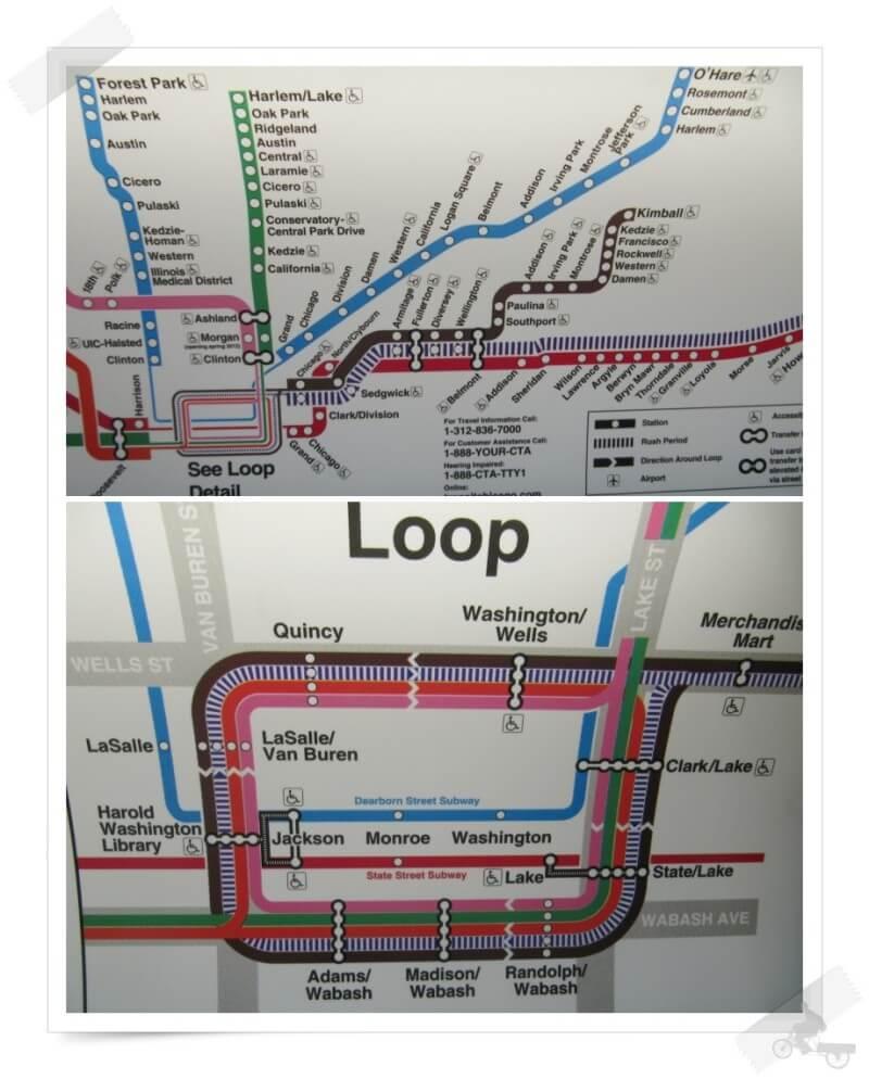 línea metro Chicago