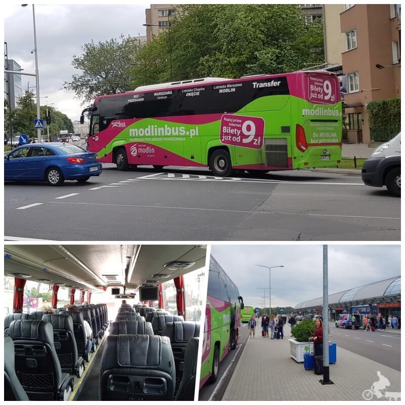 modlin bus aeropuerto varsovia