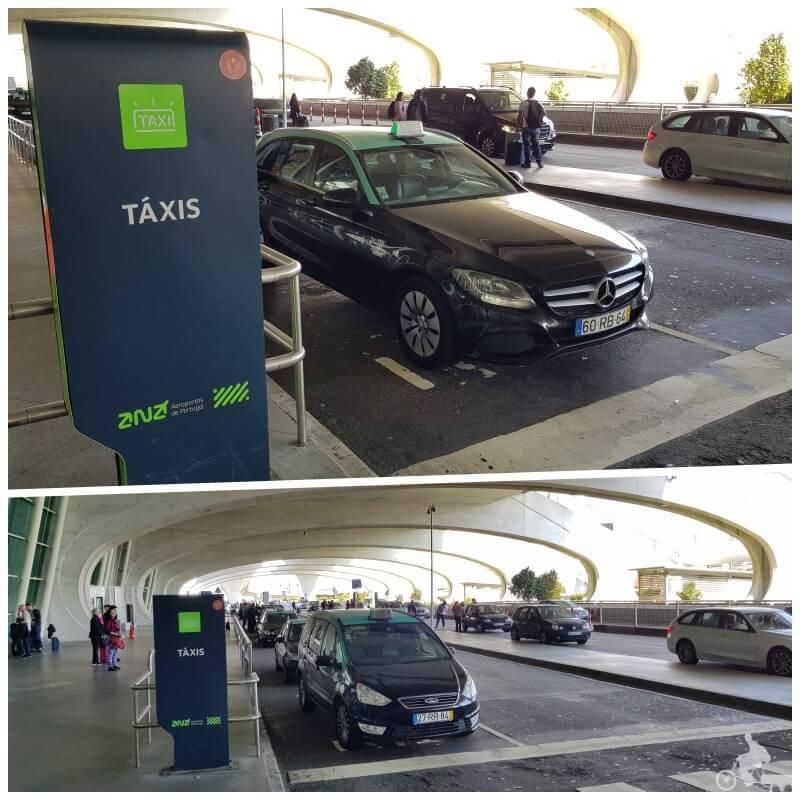 taxis aeropuerto de Oporto